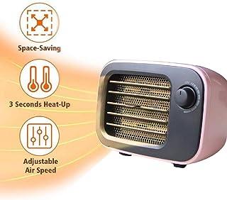 ZP-Heater Mini Calefactor eléctricos,De Ventilador Termostato Silencioso,De Ventilador Termostato Silencioso Portátil Pequeño Portátil,Adecuado para el otoño y el Invierno Dormitorio