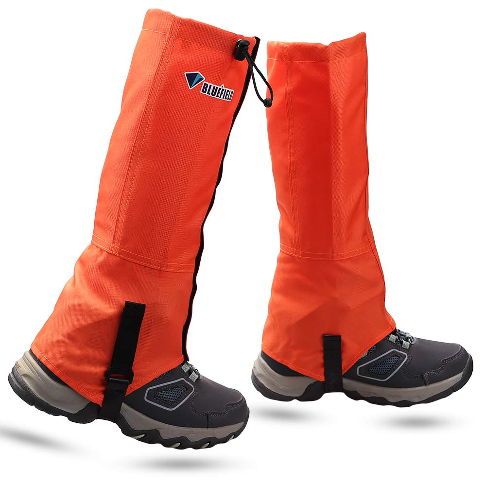 MAGARROW Leg Gaiters Hiking Snow Boot Gaiter Outdoor Waterproof Gaiters Shoes Cover Oxford Fabric