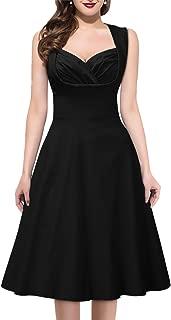 Miusol Women's Vintage 1950s Style Sleeveless Evening Party Dress