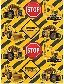 Construction Zone Sticker Party Favors (8 Sheets)