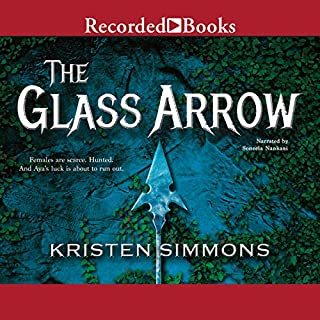 The Glass Arrow audiobook cover art
