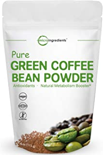 Sponsored Ad - Pure Green Coffee Bean Extract, 4 Ounce, Green Coffee Bean Fat Burn Supplement, Supports Metabolism and Wei...