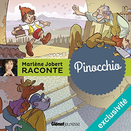 Pinocchio [French Version] audiobook cover art