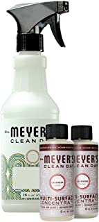 Mrs. Meyer's Multi-surface Concentrate Variety Pack, 1 Empty Spray Trigger Bottle, 2 Multi-Surface Concentrate Lavender, 3 CT