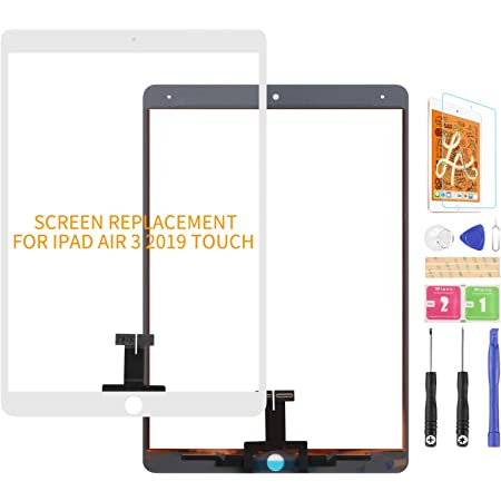Thecoolcube Touchscreen Digitizer Glas Bildschirm Ersatz Kompatibel Mit Ipad Air 3 2019 3rd Gen A2152 A2123 A2153 A2154 10 5 Zoll Kein Lcd Weiß Elektronik
