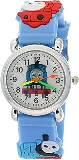 TimerMall Thomas Tank Engine Friends Children Stainless Steel Back Analogue Quartz Watches