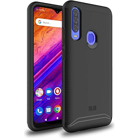 "TUDIA DualShield Designed for BLU G9 Pro Case/BLU Vivo XII -6.3"" Case, [Merge] Heavy Duty Protection Slim Hard Case for BLU G9 Pro/BLU Vivo XII (Matte Black)"