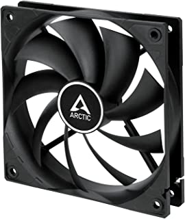 ARCTIC F12 PWM - 120 mm PWM Case Fan, PWM-Signal regulates Fan Speed, Quiet Motor, Computer, Fan Speed: 230-1350 RPM - Black