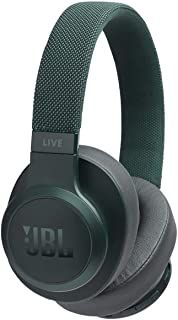 JBL Live 500BT Wireless Over-Ear Voice Enabled Headphones (Green)