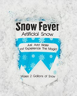 Instant Snow Powder - Artificial Fake Snow for Slime, Kids & Crafts - Premium Snow Decorations for Party, Photography, Christmas & Home Decor - Makes Gallons of Fluffy White Snow (10 Gallons)