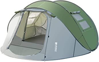 Weanas Easy Pop Up Tents, Instant Automatic 4-6 Person Family Camping Tents Easy Quick Setup Dome Popup Tents for Camping,...
