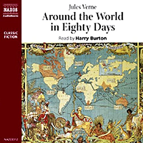 Around the World in Eighty Days audiobook cover art