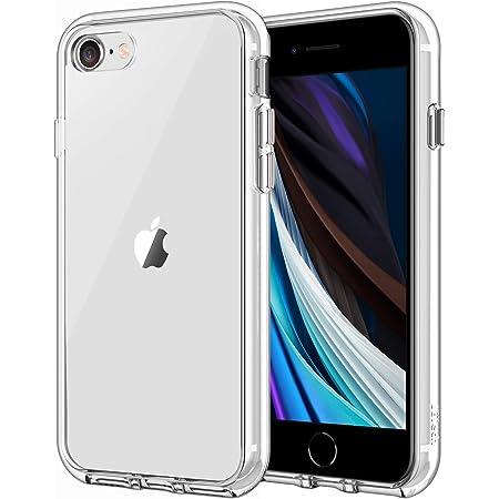 JETech Coque Compatible avec iPhone SE 2020, iPhone 8 et iPhone 7, Housse de Protection Transparente Anti-Chocs et Anti-Rayures (HD Clair)