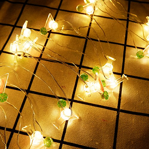 Yaeer, luce notturna a LED decorativa per bevande estive, 20...