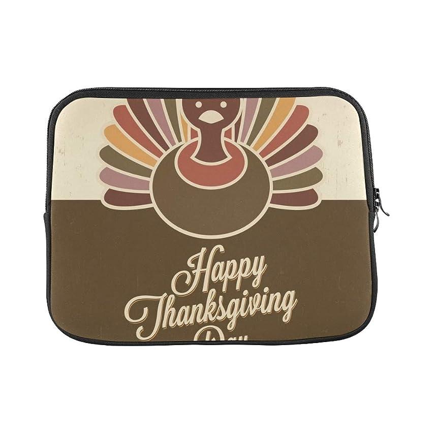 Design Custom Thanksgiving Design Retro Style Elements Thanksgivings Sleeve Soft Laptop Case Bag Pouch Skin for Air 11