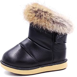 Cixi Maxu E-Commerce.Co.Ltd Girls Winter Snow Boots Boys Outdoor Walking Shoes