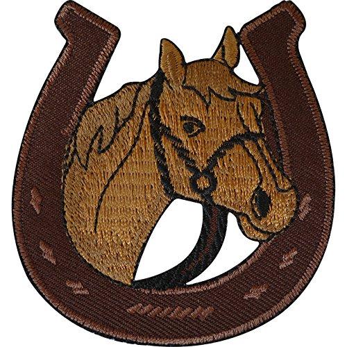 Parche de herradura para planchar o coser en la ropa, chaqueta, caballo