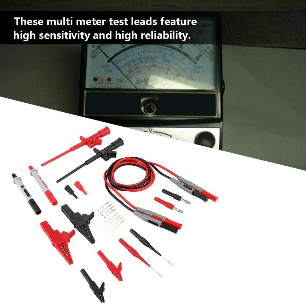 4mm Banana Plug Multimeter Probe Cable Set Electronic Test Lead Probe Set Crocodile Clips for Multi Meter P1600C Test Lead
