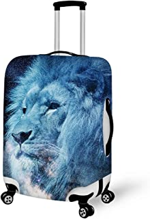 Nanmma Cute 3D Mandala Pattern Luggage Protector Travel Luggage Cover Trolley Case Protective Cover Fits 18-32 Inch