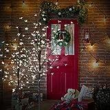 CCLIFE LED Kirschblütenbaum Baum Blütenbaum weihnachtsbaum warmweiß kaltweiß ihnen außen Lichterdeko LED-weihnachtsbaum, Farbe:Kaltweiß, Größe:180cm