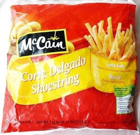 McCain マッケイン 冷凍 シューストリング フレンチフライ ポテト 2kg×2袋