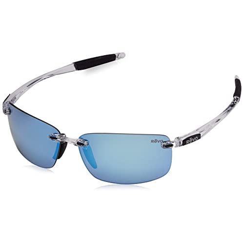 7cf87a2e0c Revo Unisex Unisex RE 4059 Descend N Rectangular Polarized UV Protection  Sunglasses