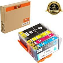 TigTak 4 Pack Replacement for HP920 920 Compitable Ink Cartridge for HP OfficeJet 6000, 6000se, 6000 Wide Format, 6000 Wireless, 6500 All in one (4 Pack (1 Black, 1 Cyan, 1 Magenta, 1 Yellow))