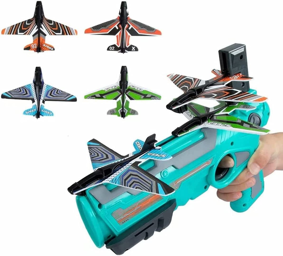 Super-cheap KOOLTI Bubble Catapult Plane Toy Airplane Max 59% OFF Foam Airplan