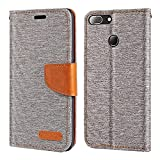Oukitel U20 Plus Case, Oxford Leather Wallet Case with Soft