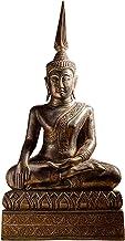 Thai Buddha Statue Hand Carved Wooden Buddha Statue Decoration,Buddha Statue in Thailand Home Decor Buddha Ornament for Ho...