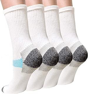 Compression Socks Plantar Fasciitis for Women Men (4/7 Pairs),8-15 mmhg Athletic Sock Arch Support Flight Travel Nurses