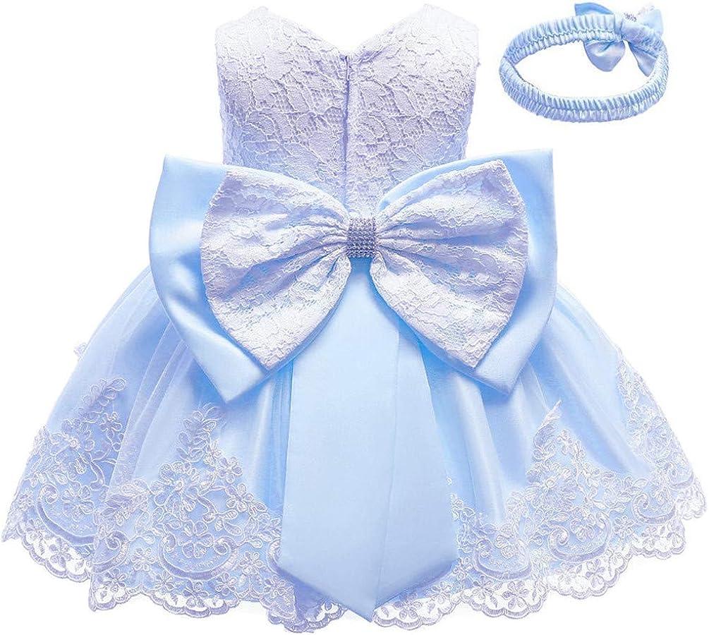 List price Christening Lace Flower Baby Girl Very popular Princess Formal Tut Prom Dress