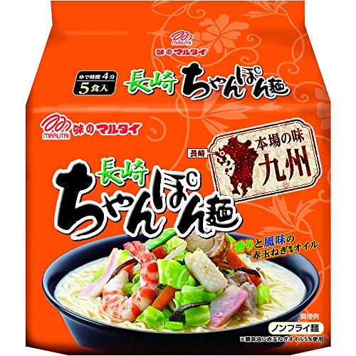 19位:マルタイ『本場の味九州長崎ちゃんぽん麺』