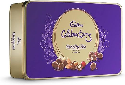 Cadbury Celebrations Rich Dry Fruit Chocolate Gift Box, 177 g 1