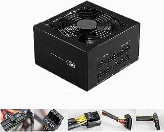 Fullt Modulärt 80 PLUS Brons ATX Strömförsörjning 650W, 100-240V, med Tyst Temperaturfläkt, Lämplig för Stationär Dator