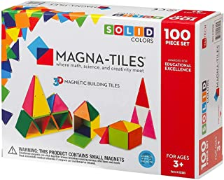 Magna Tiles Solid Colors Set (100 Piece)