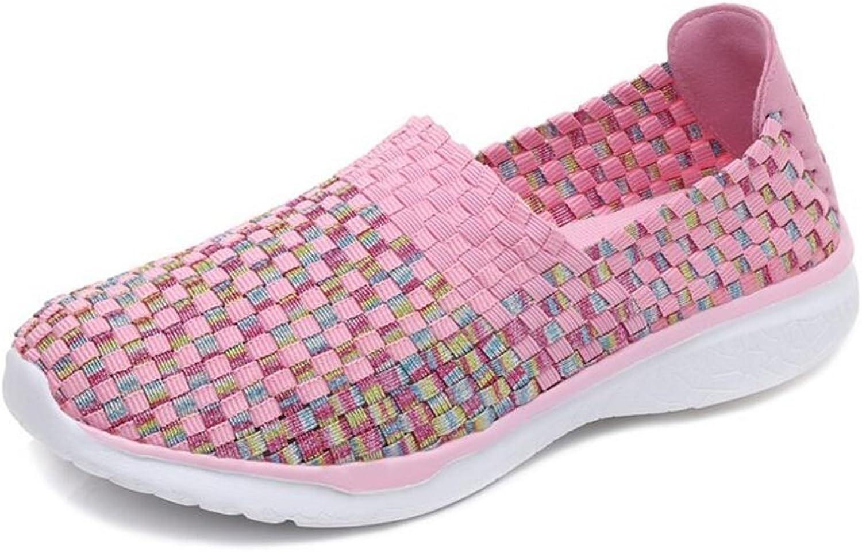 IINFINE Women's Casual Walking Sneakers - Lightweight Breathable Flat shoes