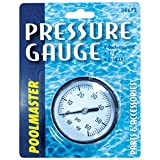Poolmaster 36672 Pressure Gauge for Swimming Pool or Spa Filter, 1/4-Inch, Back Mounted Thread
