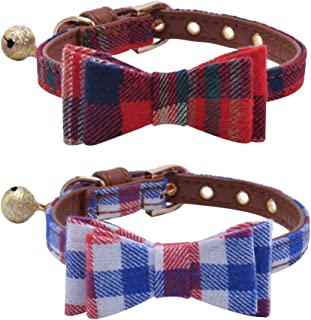 PUPTECK Adjustable Bowtie Small Collar