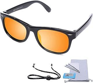 AODUOKE Sports Polarized Sunglasses For Kids Children...