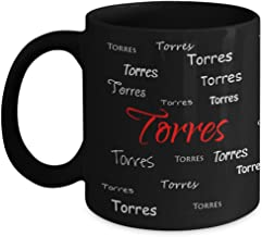 Torres First Last Or Family Name Pride Novelty Gift Coffee Mug