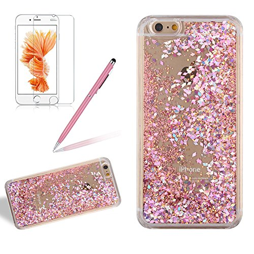 Fourrure Miroir Coque Girlyard Bling Brillante Miroir Mince Dure Plastique Etui avec Doux Peluche Motif Design T/él/éphone Case Transparente 3D Antichoc Couverture de Protection pour iPhone 5//5S//SE Paillette Coque pour Apple iPhone 5//5S//SE