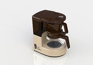 Melitta, Koffiezetapparaat Met Glazen Kan, Aromaboy, Glazen Pot Voor 2 Kopjes, Beige/Bruin