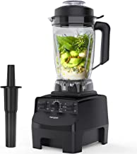 Homgeek Blender Smoothie Blender, 2000W High Speed Professional Countertop Blender for Shakes and Smoothies 33000 RPM, Built-in Timer& 10-speeds Control, 68 Oz Dishwasher Tritan Jar