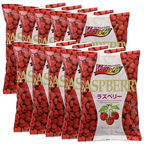 【冷凍】 業務用 フルーツ VeryBerry 冷凍 ラズベリー 500g ×10袋 セット ノースイ 冷凍フルーツ