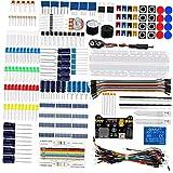 DierCosy Tools Proyectos electrónicos Starter Kit de Tablero Aprender programación de componentes Kit Compatible con la Junta de Desarrollo Arduino Nano