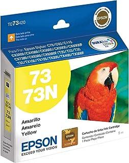 Cartucho Original, Epson, T073420BR, Amarelo