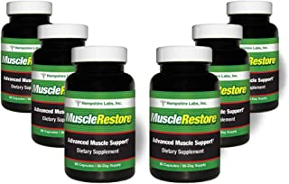 Muscle Restore all natural strength formula helps you stay stronger longer  Keep active, mobile and INDEPENDENT  Rebuild your muscles and reduce risk of falls, fractures and avoid hospitalization. (6)