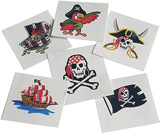 U.S. Toy Pirates Childrens Temporary Tattoos