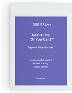 #FOBO PATCH Me (If You Can), Targeted Pimple Patches By Dermala - 36 Extra Strength & Extra Thin Hydrocolloid Acne Pimple Patches
